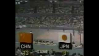 1984 Los Angeles Olympic Women's Volleyball Semifinal