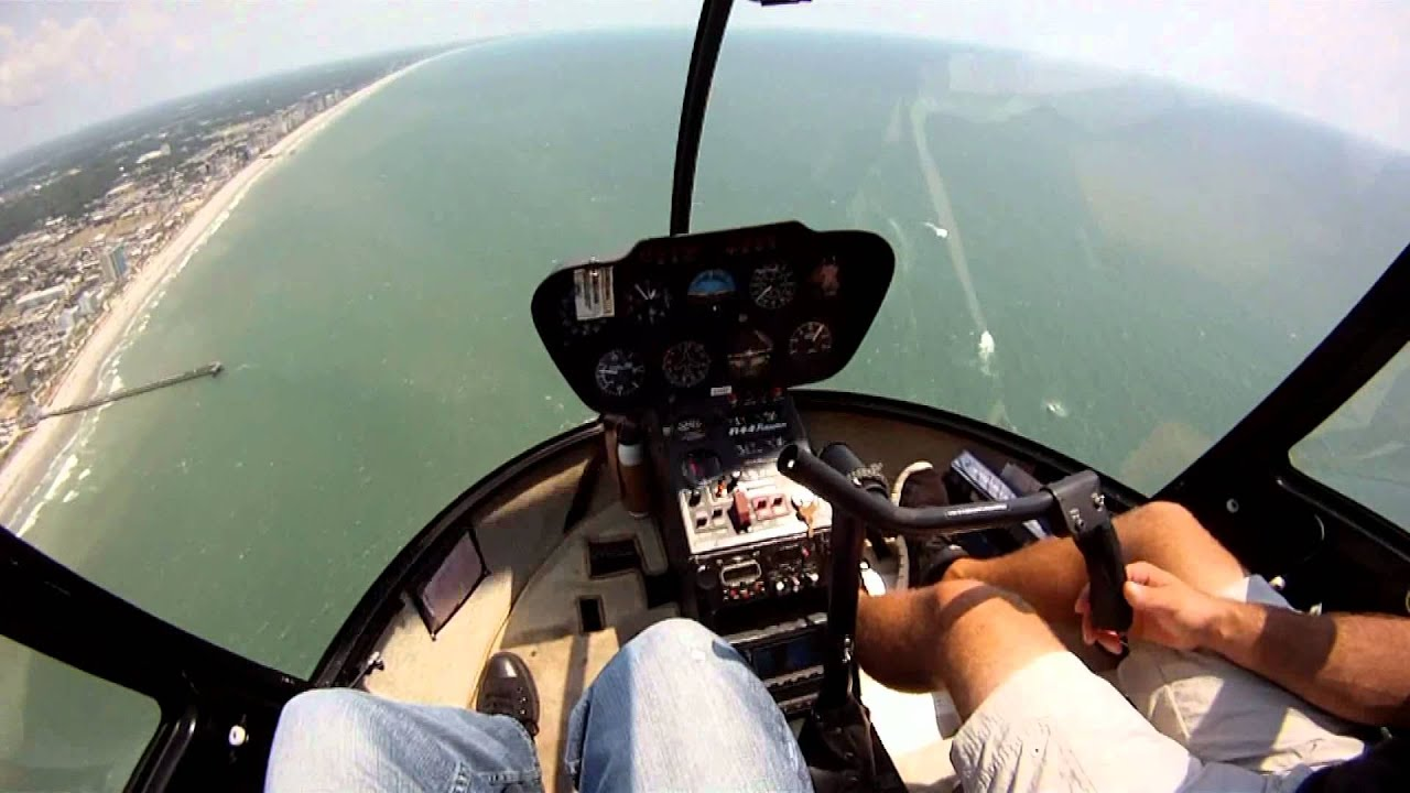Huffman Helicopter Ride Over Myrtle Beach  YouTube