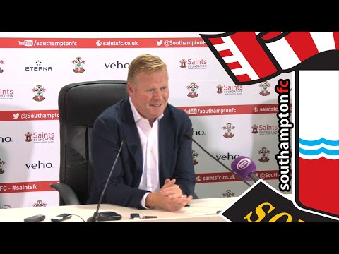 Ronald Koeman's first Saints press conference
