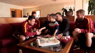 AS Roma joins Telethonitalia to be with young Alessio #ognigiorno