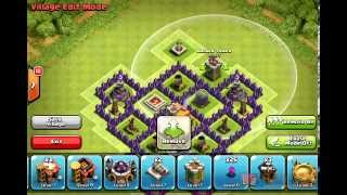 Clash Of Clans Trophy Base TH 7