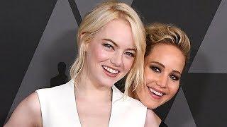 Emma Stone BAILS On Jennifer Lawrence After Golden Globes in Hilarious Video