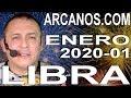 Video Horóscopo Semanal LIBRA  del 29 Diciembre 2019 al 4 Enero 2020 (Semana 2019-53) (Lectura del Tarot)