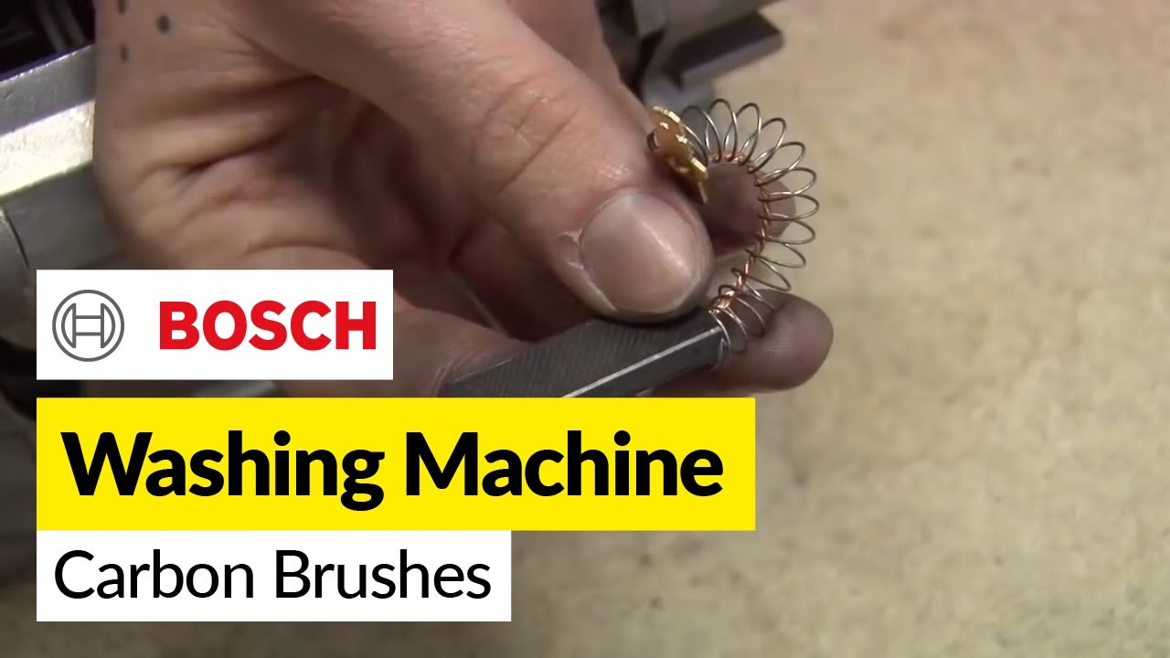hoover washing machine motor wiring diagram how to replace    washing       machine    carbon brushes on a bosch  how to replace    washing       machine    carbon brushes on a bosch