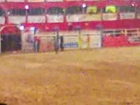 rodeio em touro Expo Mutum 2013 montaria em touro Robson Rodeios