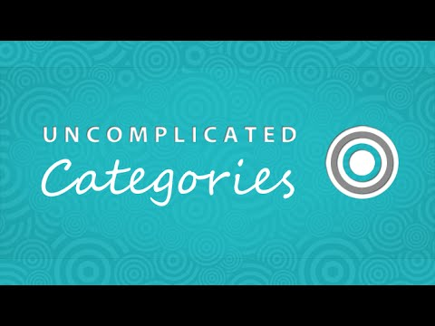 Uncomplicated categories for Shopify, how to setup categories from scratch