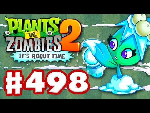 Plants vs. Zombies 2: It's About Time - Gameplay Walkthrough Part 498 - Missile Toe! Feastivus (iOS)