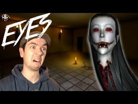 Eyes | BEST BURGLAR EVER! | Indie Horror Game | Commentary/Face Cam