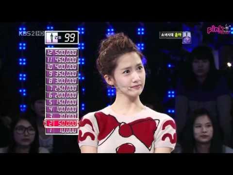 [Vietsub ] KBS 1 vs 100 - Yoona 1/2
