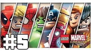 Lego Marvel Super Heroes Playthrough #5 [FR][HD]