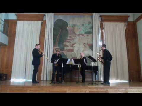 Echolocation - Takuma ITOH - performed by Quanta Quartet