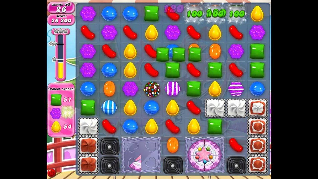 YouTube Candy Crush Level 377