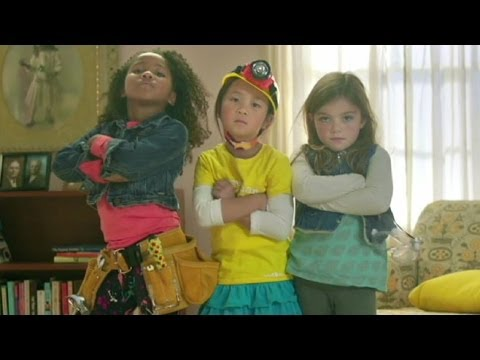image of girls from goldieblox commercial