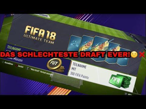 Das schlechteste Fut Draft EVER!❌🔥 | Fifa 18 mit Faybay