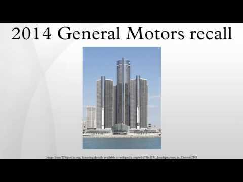 2014 General Motors recall