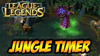 League Of Legends Gameplay Enigma's Jungle Timer