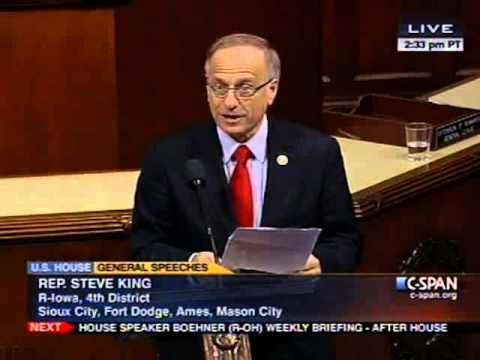 Reps King &amp; Rohrabacher Spoke Against Amnesty on House Floor