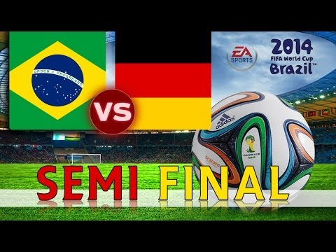 [TTB] 2014 FIFA World Cup Brazil - Brazil Vs Germany - SEMI FINAL - Ep6