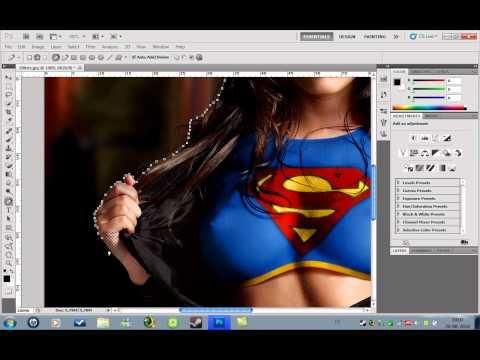 Aprende a Recortar Imagenes en Photoshop CS5/CS4