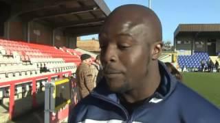 Wimbledon: Akinfenwa, 'bestia' da 100 chili, avverte il Liverpool...