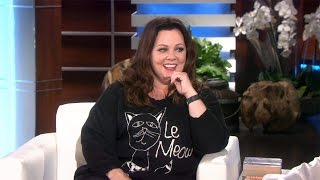 Melissa McCarthy and Ellen Tell Ghost Stories