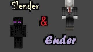 Slender And Ender: Herobrine's Mansion- Episode 1