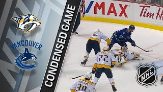 03/02/18 Condensed Game: Predators @ Canucks