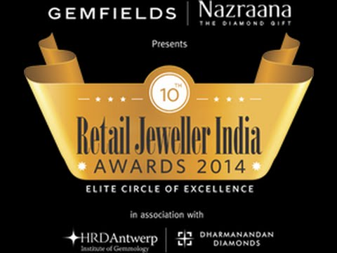Nazrana The Diamond Gift Retail Jweller India Award 2014