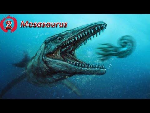 Top 5 quái vật biển đáng sợ nhất thời tiền sử