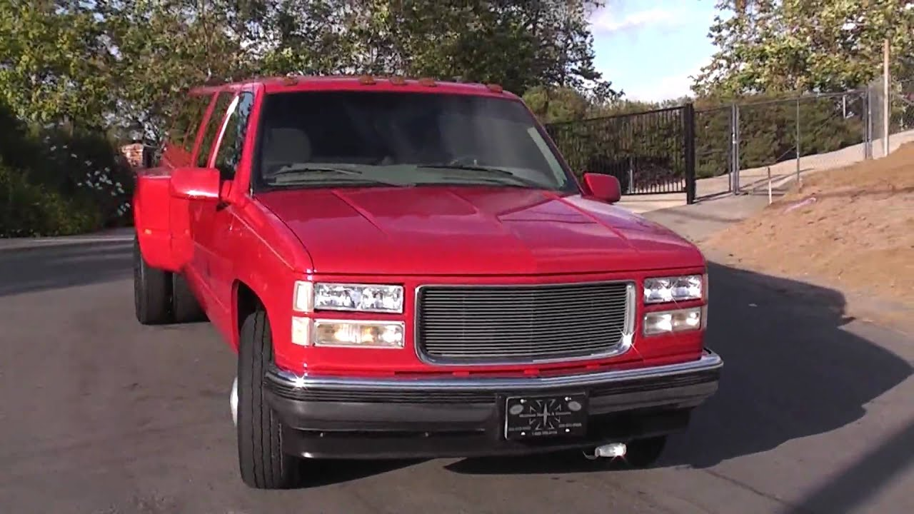 99 chevy dually 3500 whipple supercharger xlnt 2 owner for sale