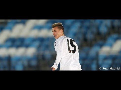 Genç Real Madridli Ronaldo gibi vurdu!