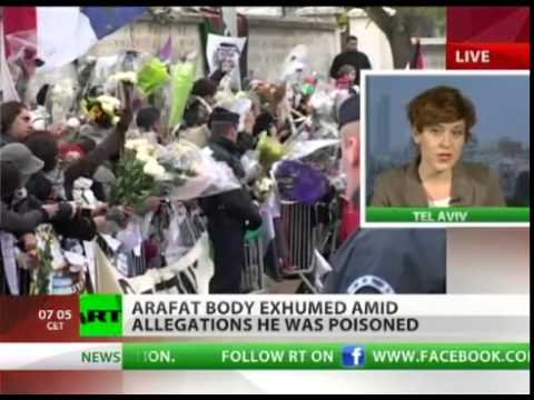 QATAR wants CHANGE has as ARAFAT body brought up from the GRAVE, under ALLEGATIONS he was POISONED!