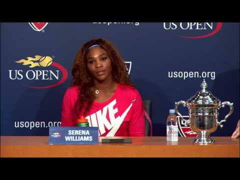 2013 US Open - Serena Williams press conference