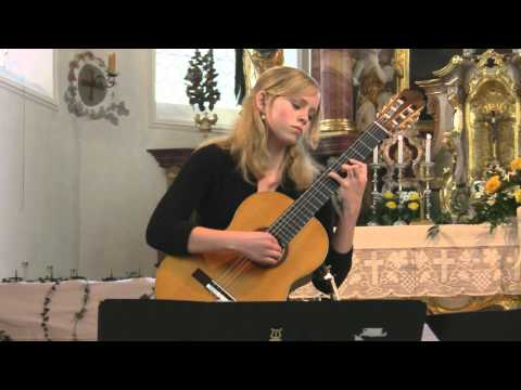 Jessica Kaiser German plays Rondo brillante op 2 2 by Dionisio Aguado