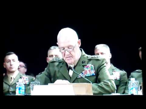 Remarks of Lt. Gen. Mills Before Committee - March 26, 2014