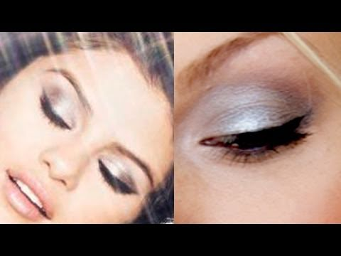 Selena Gomez Inspired: Foiled, Metallic Eye Makeup