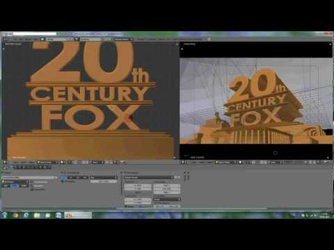 TUTORIAL: Make your own 20th Century Fox Intro with Blender 2.5