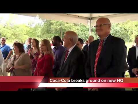 Coca-Cola breaks ground on new HQ in Chattanooga
