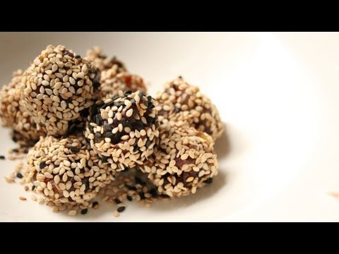 Sesame Almond Date Balls - Sheba Yemeni Food & Recipes