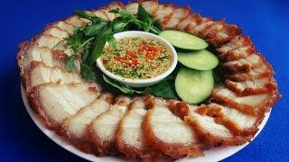 Cách làm THỊT HEO CHIÊN NƯỚC MẮM kiểu Thái - Món Ăn Ngon