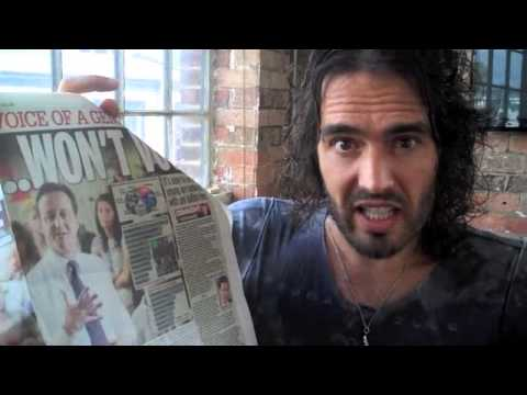 Are You Outraged By Halal Pizza? Russell Brand The Trews Ep51