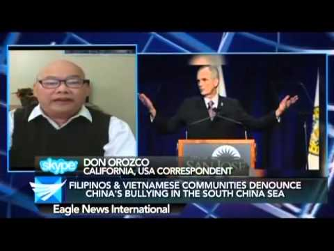 Filipinos & Vietnamese communities in California denounce China's bullying in sea dispute