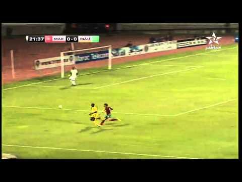 12 Oct 2014 : Match Amicla Maroc vs Mauritanie 1er Mi-Temps