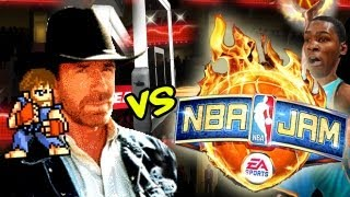 Chuck Norris vs. NBA Jam