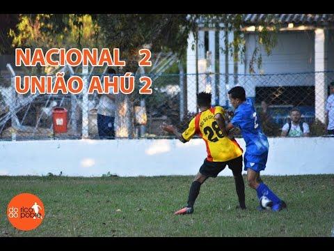 NACIONAL 2 x 2 UNIÃO AHU