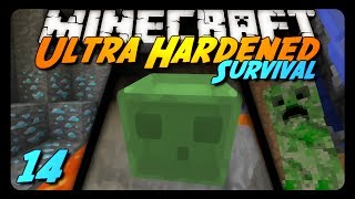 Minecraft: Ultra Hardened Survival LP - 14 - NEVER DIG UP!