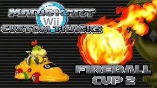 Mario Kart Wii Custom Tracks - Fireball Cup 2