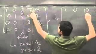 Lec 01 - Linear Algebra | Princeton University