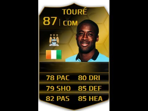 FIFA 14: IF Yaya Toure 87 Player Review, In Game Stats & Gameplay || Inform Toure Analysis