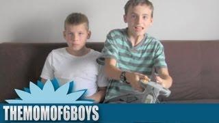 How Kids Play Video Games || THEMOMOF6BOYS